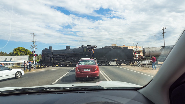Give Way to the Steam Train