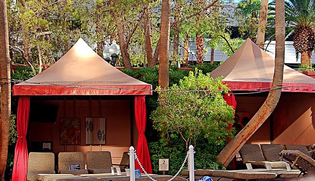 Comfortable Cabanas