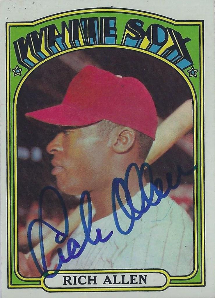 1976 Topps #455 Dick Allen Philadelphia Phillies Baseball Card