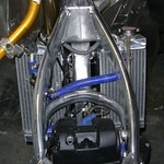 Fwd: My version of a street supermoto build using Warp 9 products
