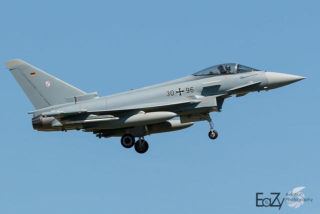 30+96 German Air Force (Luftwaffe) Eurofighter Typhoon