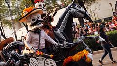 Segundo Desfile de Día de Muertos en la CDMX