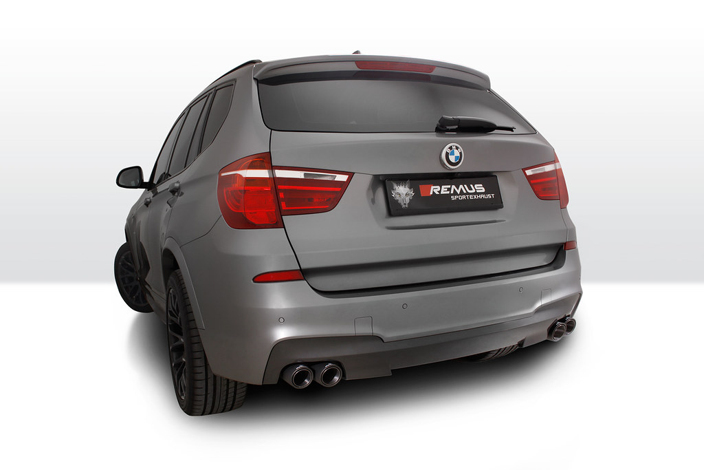 Bmw X3 F25 Facelift With Remus Sport Exhaust Remus Innovation Flickr