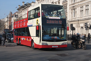 Original London Sightseeing Tour VXE724 YJ11TVE | by peterolding