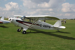 G-AWPW Piper PA-12 [12-3947] Sywell 020917