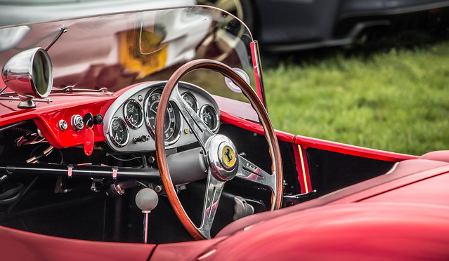 Ferrari 250TR cockpit