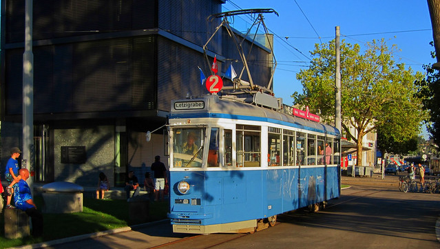 Tram Museum Zürich - Ce 4/4 1530