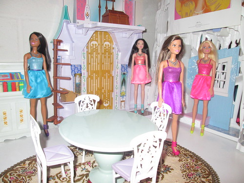 Mattel website list them as Glitzy Party