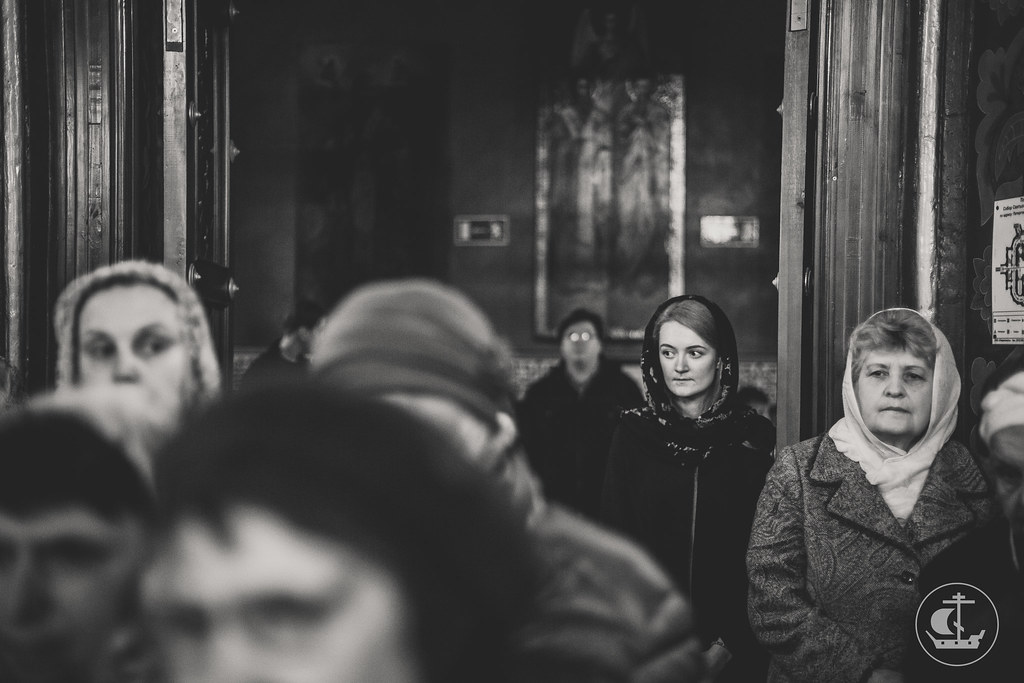 14 Октября 2017, Литургия в Петергофе / 14 October 2017, Divine Liturgy in Peterhof