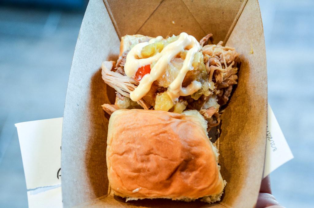 Pork sandwich Hawaii Epcot