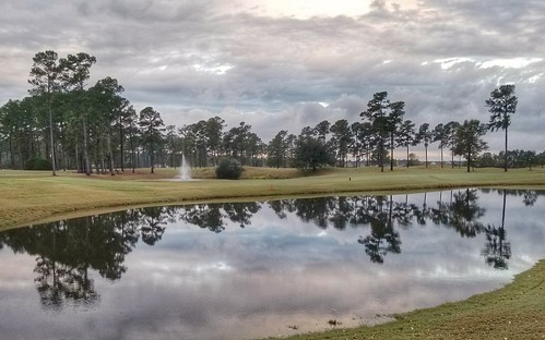 golf reflection