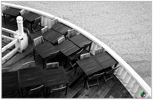 Bar de la page Biarritz