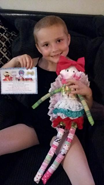 Bee Brave Buddies dolls for children with cancer