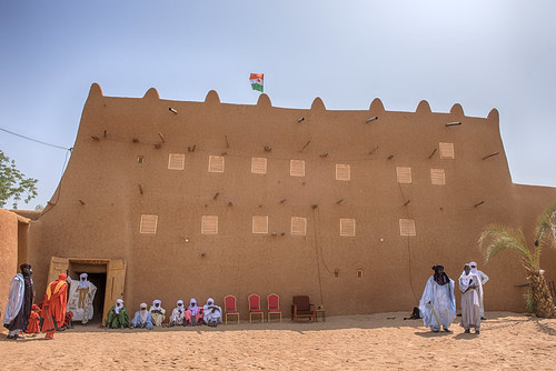 niger sultans palace agadez