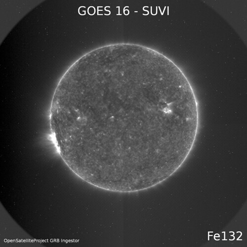 GOES 16 - SUVI - Fe132 | by energylabsbr