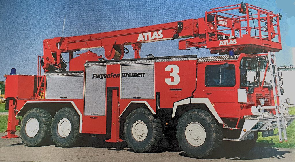 Atlas Fire Air Crash apparatus#3 from the past  | Terry