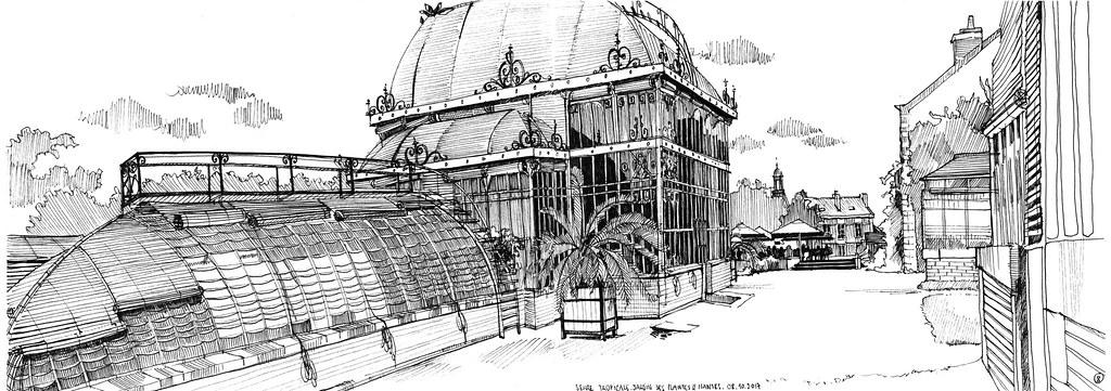 Nantes // Serre tropicale du Jardin des plantes 08.10.2017 ...