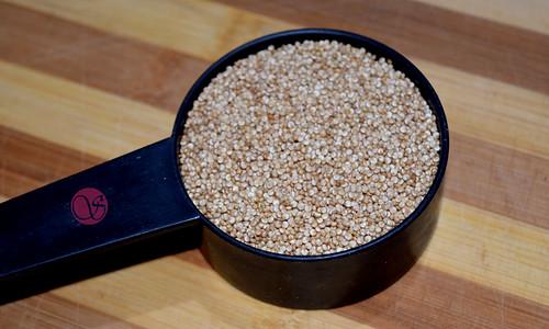 Roasted quinoa