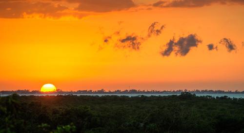 sunset florida sun clouds sky hdr floridasunset gulfcoast anna maria island annamariaisland landscape palmasolabay