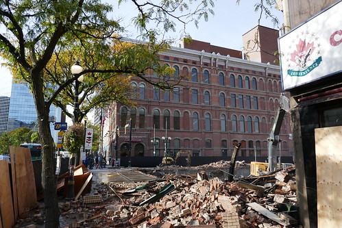 Kresge's building demolition Oct 27 (2) | by .JCM.