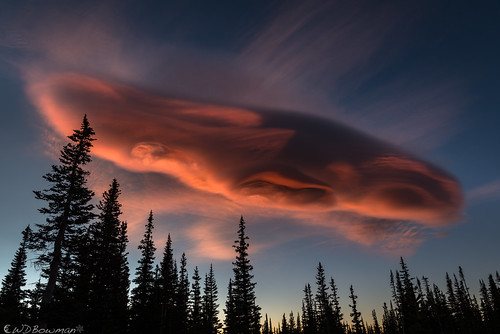 lenticularcloud sunrise burnmeadow frontrange colorado rockymountains ufo mountainresearchstation