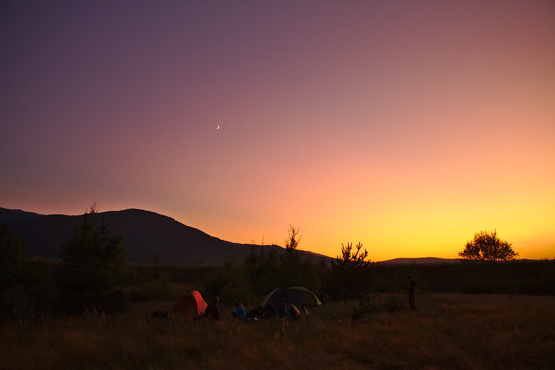 The last night in the mountains