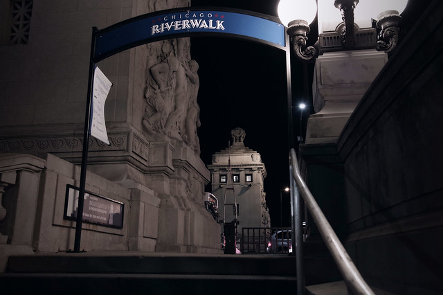 Riverwalk Stair,  N. Michigan Ave.
