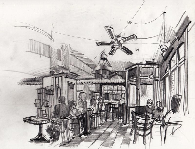 Aachen, Café Egmont