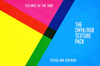 The CMYK/RGB texture pack