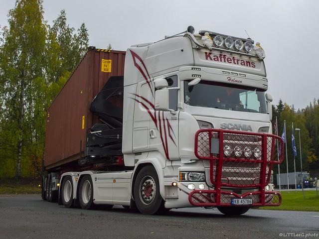 Scania R Streamline Topline Kaffetrans (N)