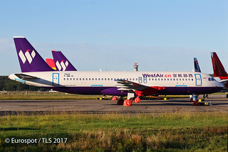 F-WWID Airbus A320 West Air   by @Eurospot