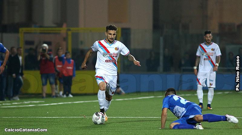 Mirko Esposito, oggi al Rieti, in rossazzurro nella stagione 2017-18