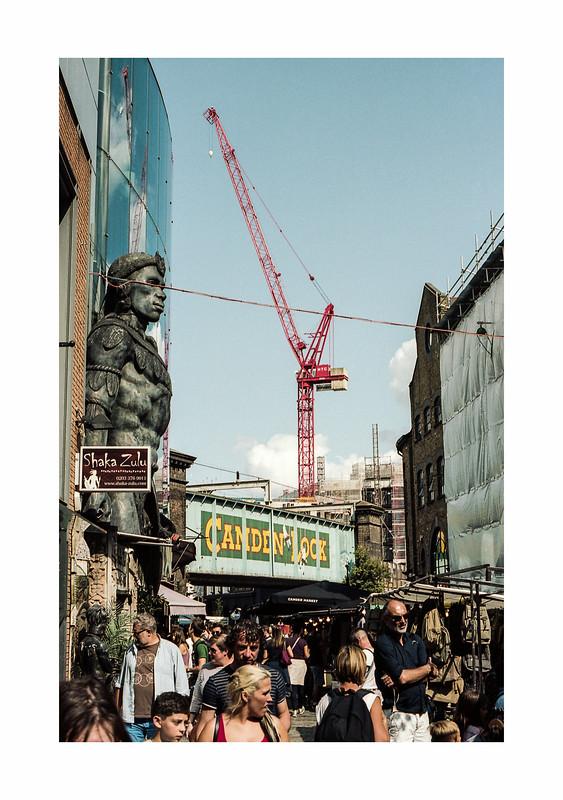 FILM - A crane over Camden