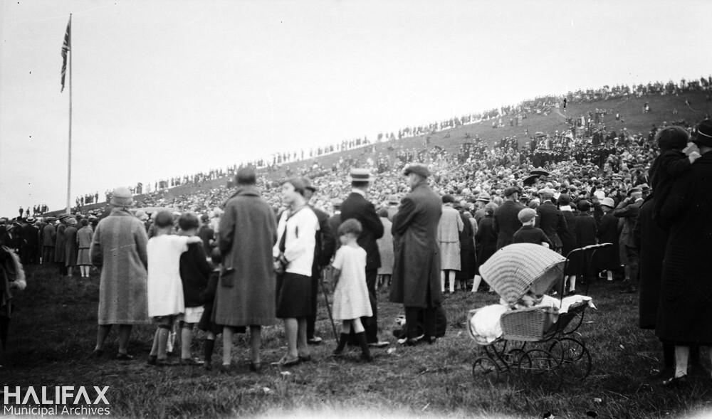 Crowds on Citadel Hill