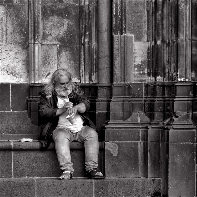 homeless in Cologne