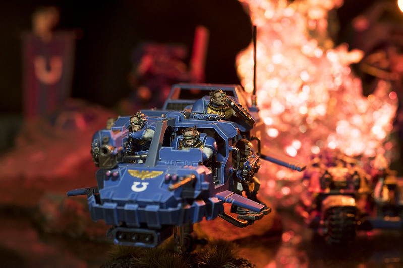 Warhammer 40K - Space Marines Land Speeder Storm