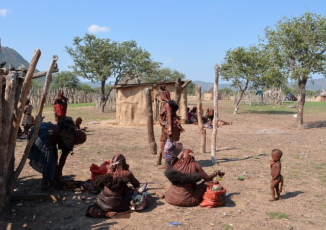 Life in a Himba Village.