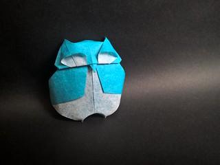 Owl (F. Scalambra)   by Helyades