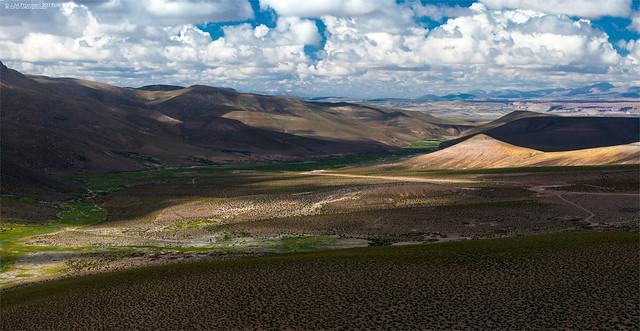 a landscape in southern Peru.