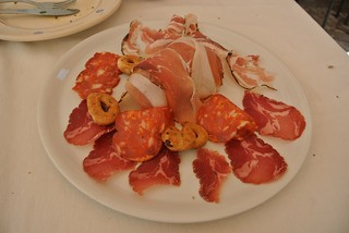 Salumi plate in Altamura | by Emilia Lives Life
