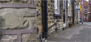 CUT BENCH MARK MONKBRIDGE ROAD LS6 | by I.K.Brunel