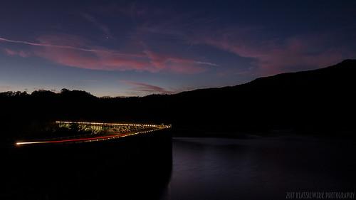 70d tva fontana dam fontanadam outdoors dusk dark night nightshot nightphotography power electricity electric nc mountains water