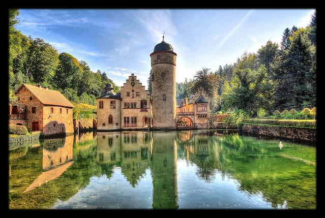 Mespelbrunn - Schloss Mespelbrunn 05