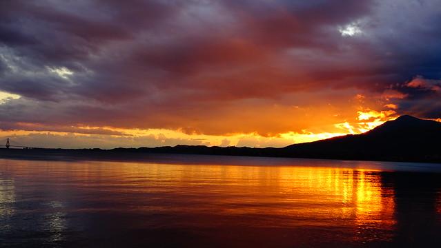 Ηλιοβασιλεμα Ναυπακτος DSC01567