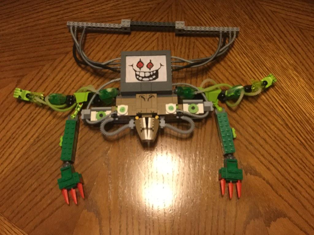 Lego Custom: Omega Flowey (Undertale) | This was something I… | Flickr