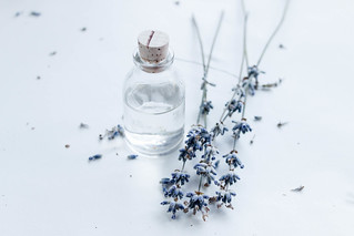 Little decorative jar and lavender | by wuestenigel