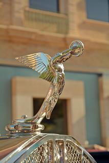 Goddess of Speed - 1928 Isotta Fraschini 8A SS Hood Ornament