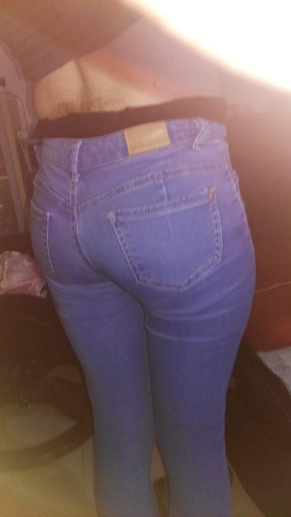 Jeans crossdresser Crossdresser Silicone