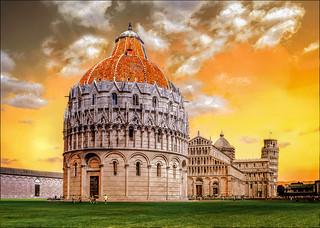 "Pisa Italy ""Piazza dei Miracoli"""