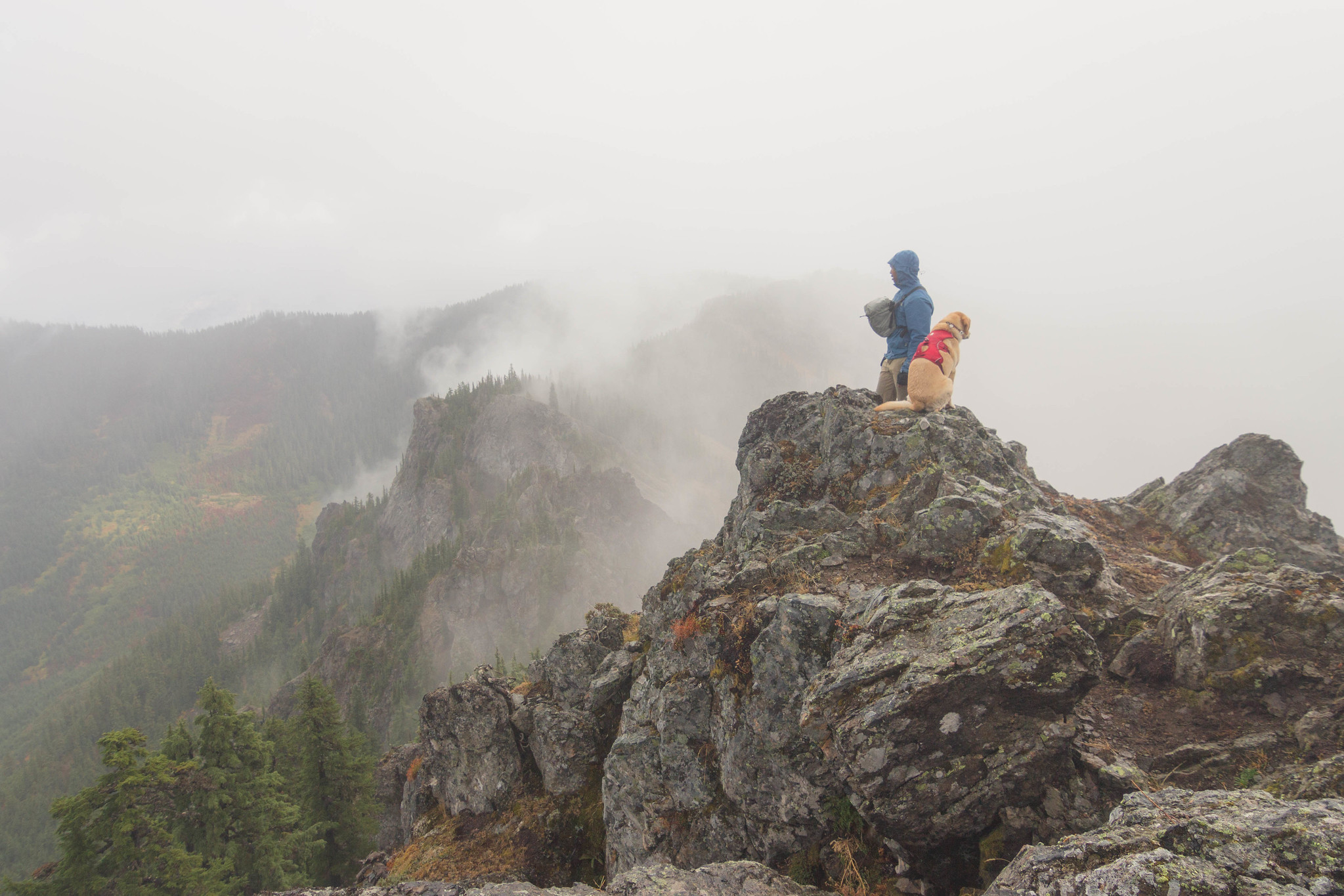 Kodak moment on French Cabin Mountain